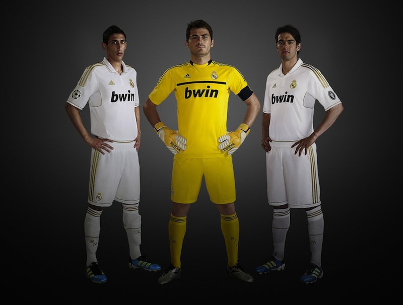 Real Madrid Home Shirt 2011 2012 Di Maria Casillas Kaka