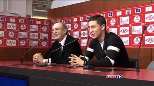 Hazard / Seydoux : on a la même posture mais on n'a peut-être bientôt plus le même maillot