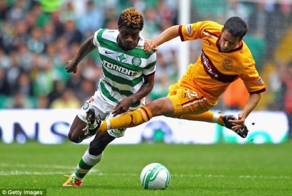 Mohamed va tellement vite qu'on ne va pas le voir longtemps au Celtic Park