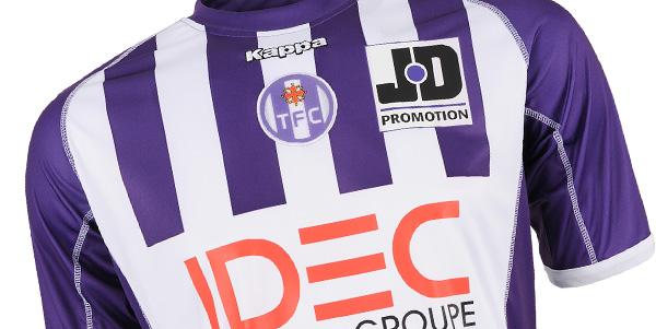 Gagnez 3 maillots du Toulouse FC sur PKFoot avec Kappa