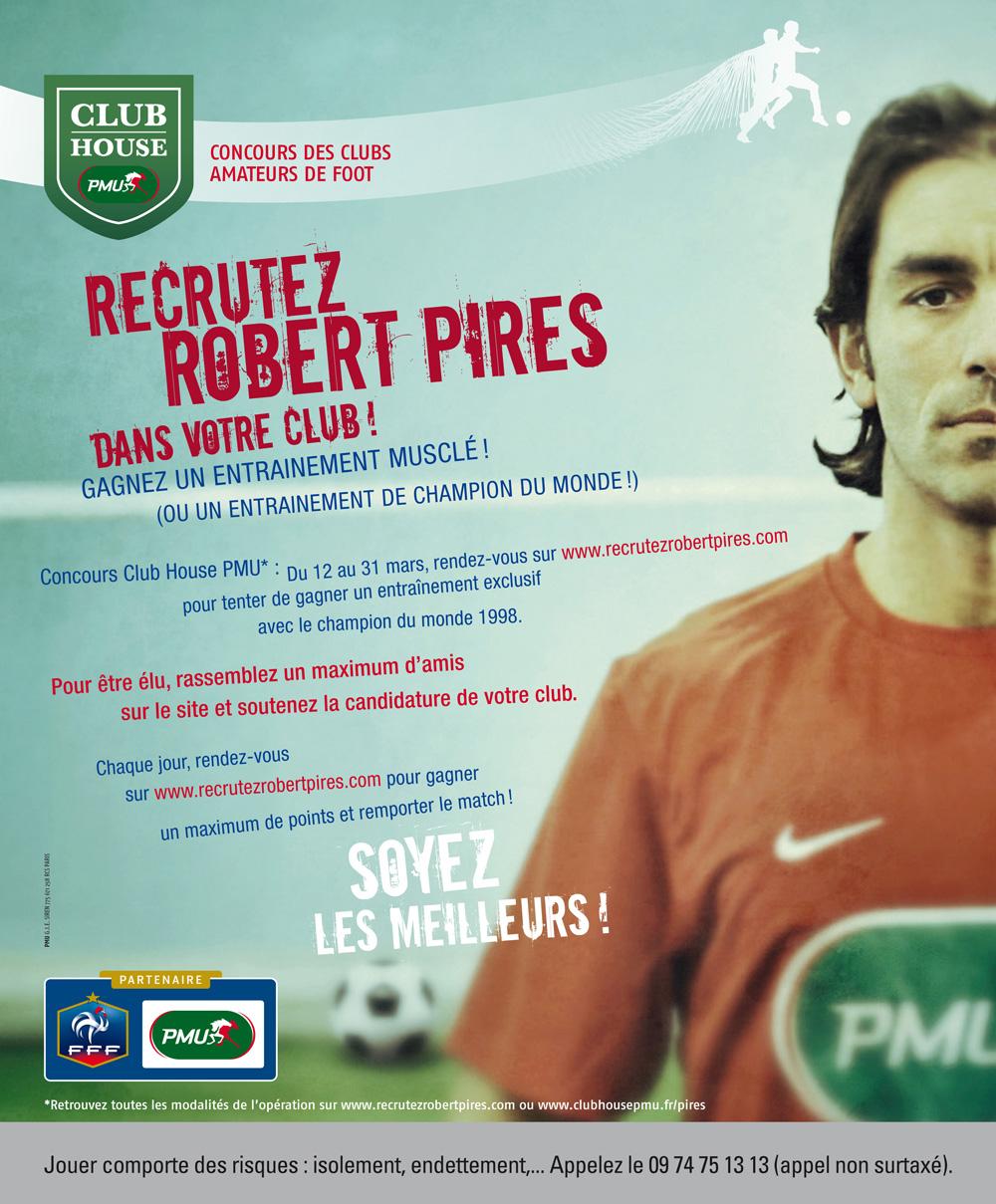 Recrutez Robert Pires dans votre équipe