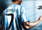 Campagne pub d'Univercell avec Cristiano Ronaldo