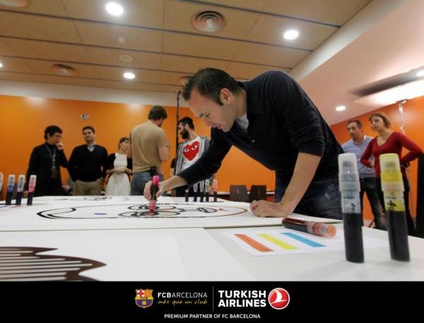 "Turkish Airlines x Craig Redman ""Passenger Portraits"" : le football en pop-art"