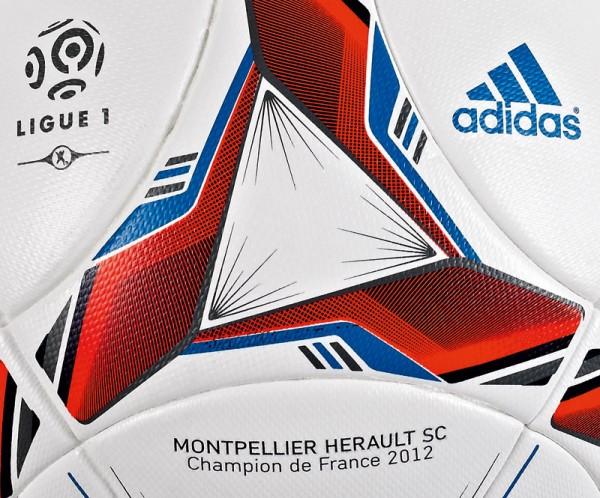 Nouveau ballon adidas LFP Ligue 1 2012 2013 « Le 80 »