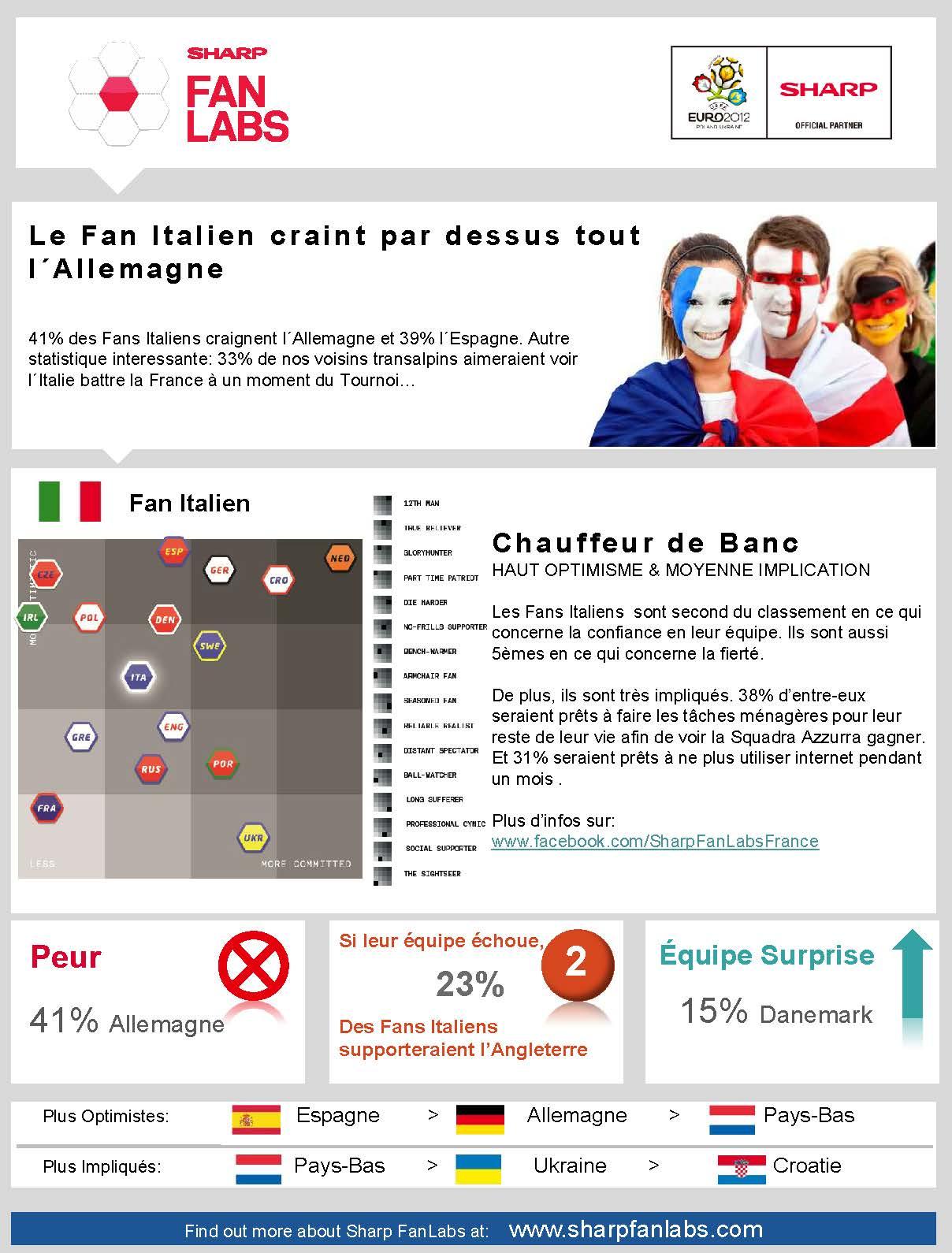 Où en sont les grandes nations pour l'Euro 2012 ?