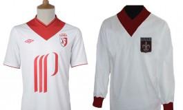 Nouveau maillot du LOSC 2012-2013 historique par Umbro