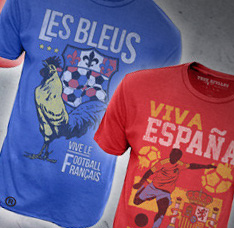 Concours : gagnez des tshirts True Rivalry « France »