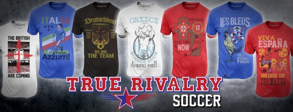 "Concours : gagnez des tshirts True Rivalry ""France"""