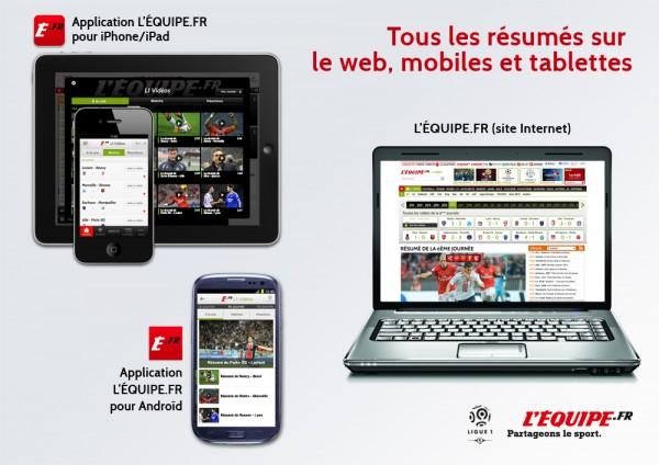 LEquipe.fr lance son dispositif spécial Ligue 1 le 13 août