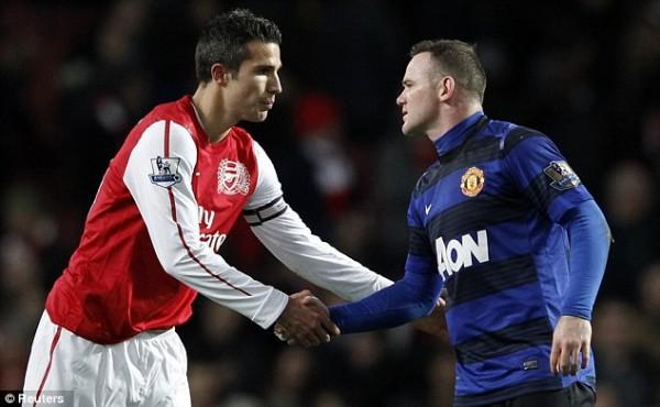 Rooney Van Persie : en voilà une belle paire !