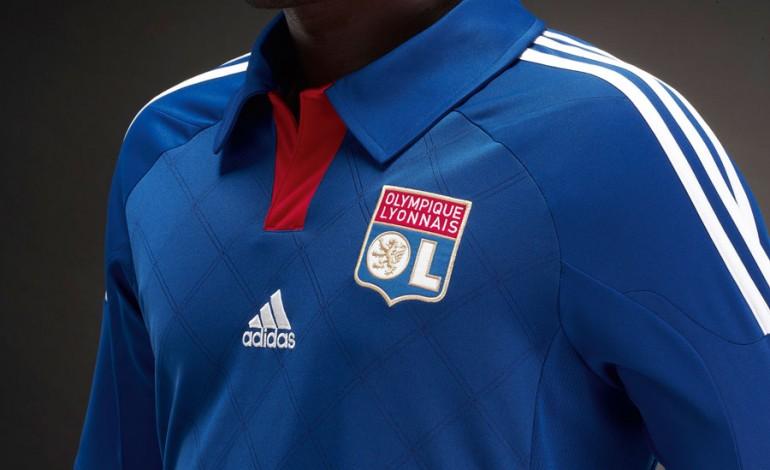 Maillot extérieur de l'Olympique Lyonnais (OL) 2012-2013 par adidas