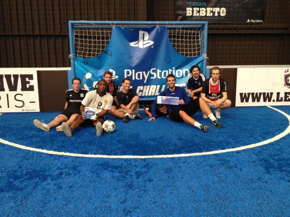 Playstation envoie des joueurs en Ligue des Champions