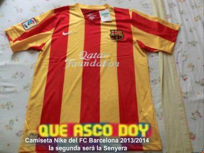 Le maillot extérieur du Barça 2013 14 a déjà fuité
