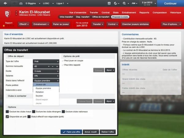 Notre avis sur Football Manager 2013