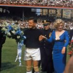Marilyn Monroe : la plus belle image du football daprès guerre