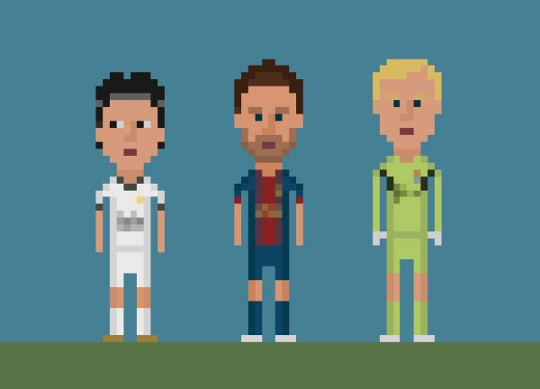 8-bit football ou comment revivre les grands moments de football