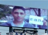 Mobilisation pour les enfants disparus dans un stade argentin