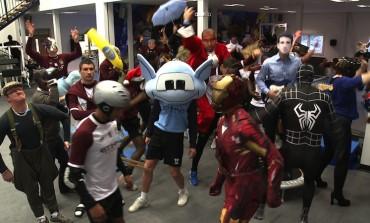 La folie Harlem Shake s'empare du football