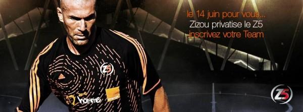 Zidane privatise le Z5 : inscrivez votre équipe et défiez votre idole