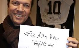 Lothar Matthäus rechausse les crampons contre 1M de Likes