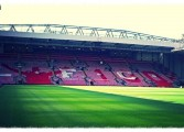 Le tifo de Liverpool pour Bill Shankly