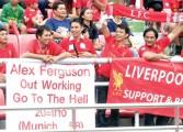 Des supporters thaïlandais de Liverpool se moquent de la tragédie de Munich