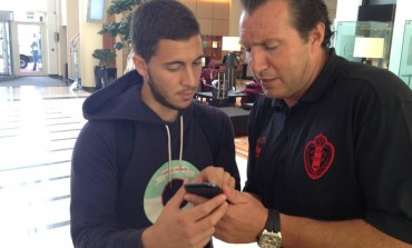 Marc Wilmots se lance sur Twitter grâce à Eden Hazard
