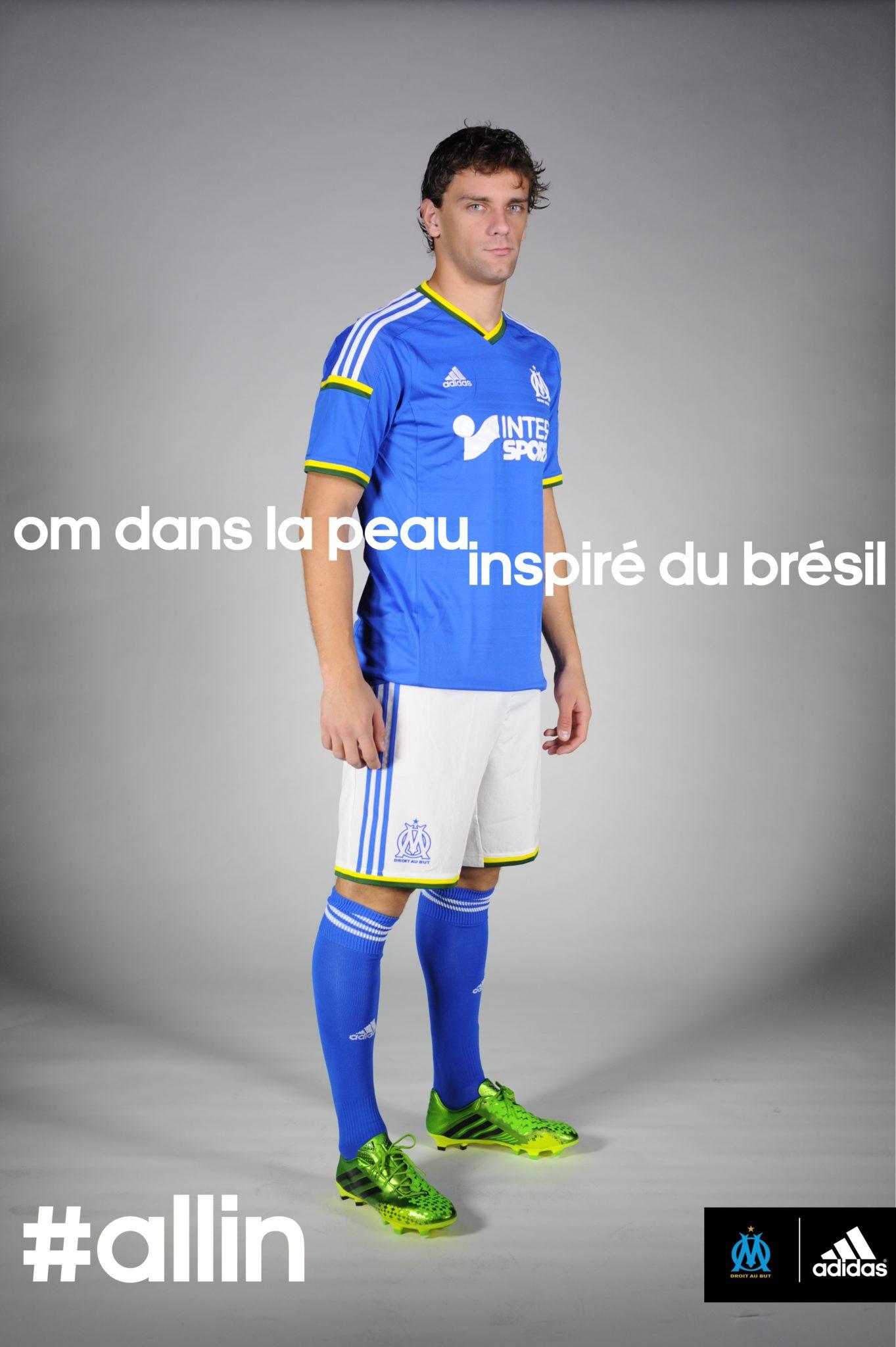 Inspiration brésilienne pour le nouveau maillot de l'OM