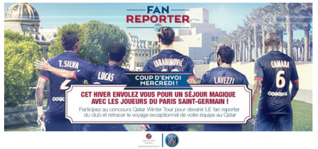 Le PSG recrute... son Fan Reporter !