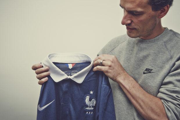Rencontre avec Martin Lotti, designer du maillot de la France pour le Mondial 2014