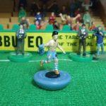 Terry Lee reproduit des moments mythiques en figurines Subbuteo