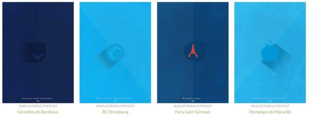 Découvrez le projet Poster FC de PKFoot