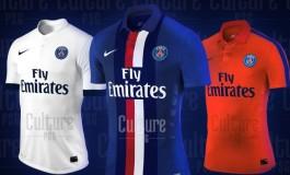 Le maillot du Paris Saint-Germain pour la saison 2014/2015