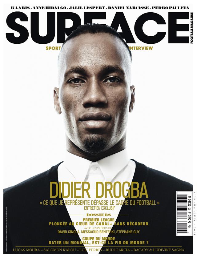 """Didier Drogba, """"une image au-delà du ballon rond"""""""