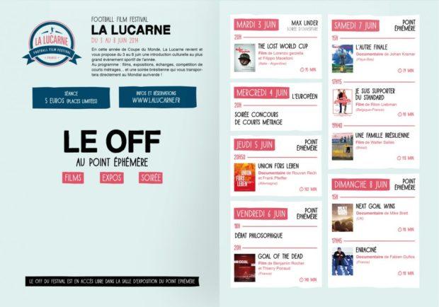Gagnez 10 places pour le festival du film de football La Lucarne 2014