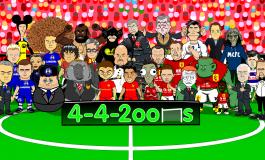 La Coupe du monde en mode cartoon