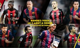 PKFoot sera présent à l'Allianz Riviera pour OGC Nice - FC Barcelone