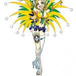Les équipes de la Coupe du monde en mode manga