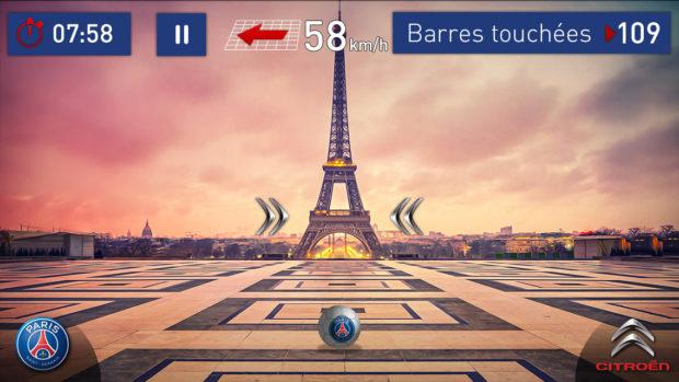 Le PSG lance son application Citroën Golden Barre