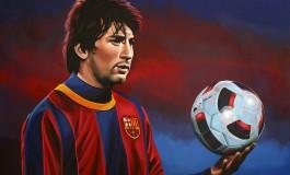 Heather Rooney dessine Lionel Messi à la main... et à la perfection