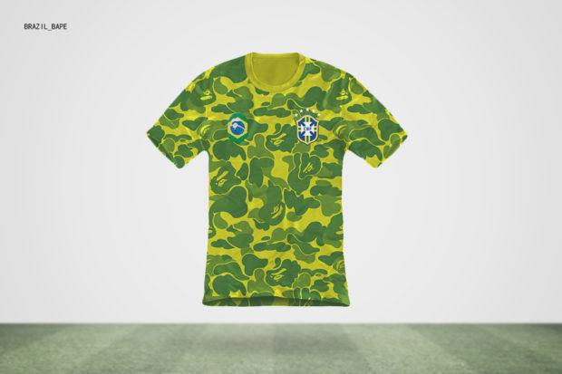 Les maillots de la Coupe du monde comme les grands créateurs