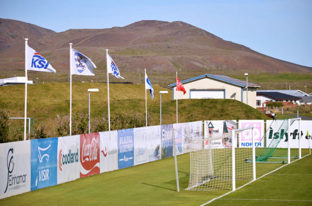 "Groundhopping ""Volcano Foot"" en Islande par SLip pour PKFoot"