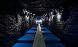 L'impressionnant tunnel du stade de Schalke 04