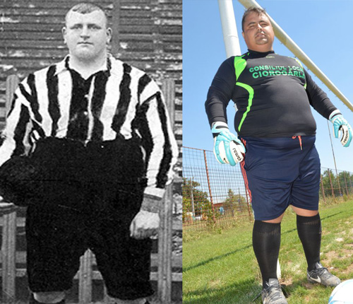Daniel Badislav, ce portier de 130 kilos qui rêvait du Rapid