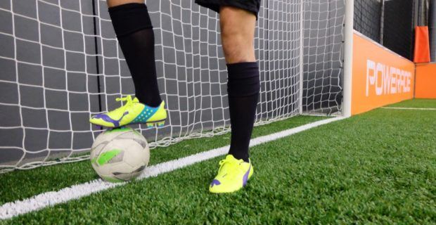 Test #WeLoveFootball de la Puma evoPOWER