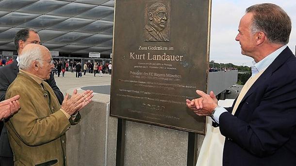 Kurt Landauer, prisonnier 20009