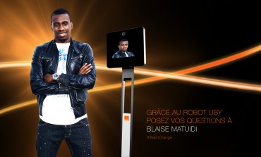 Je poserai mes questions à Blaise Matuidi à l'aide d'Uby d'Orange