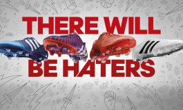 Campagne #ThereWillBeHaters d'adidas avec Suarez, Benzema, James et Bale