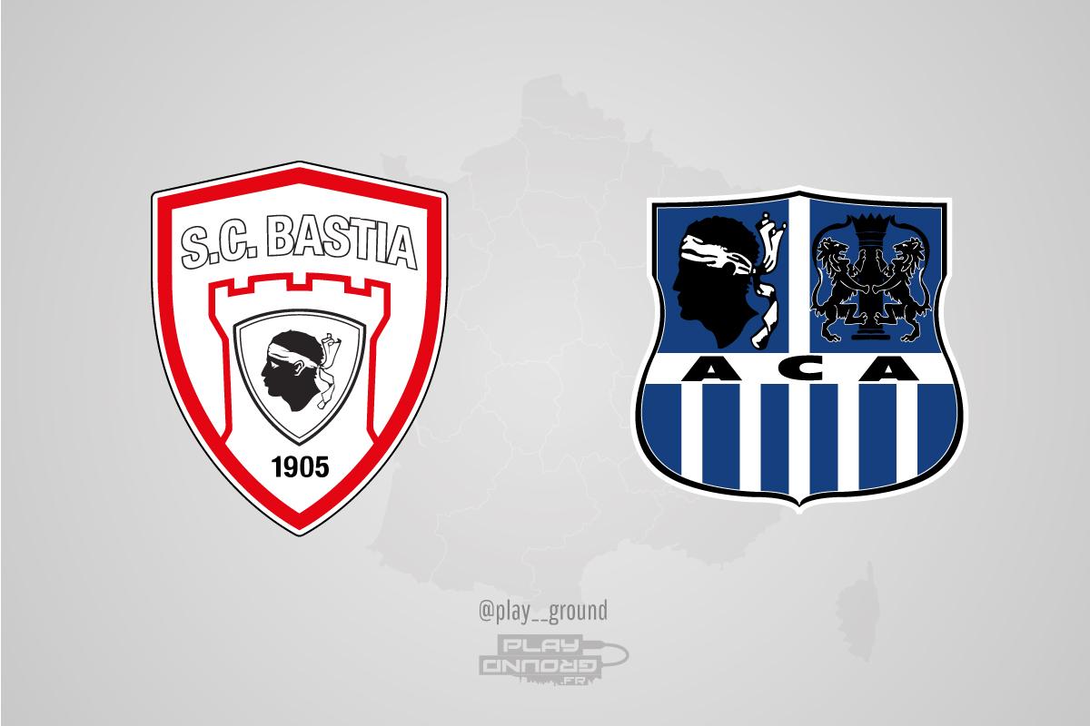 Les logos des clubs avec les couleurs de ses rivaux