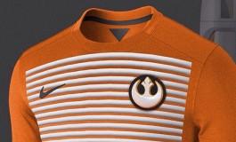 Les maillots de football façon Star Wars